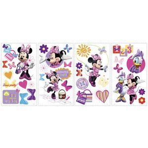 Sticker MINNIE BOW-TIQUE   4 colite de 25, 4 cm x 45, 7 cm imagine