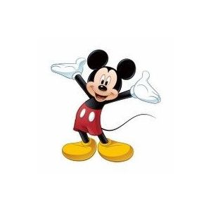 Sticker gigant MICKEY MOUSE | 92, 8 cm x 93, 3 cm imagine