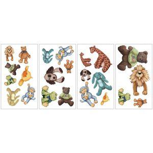 Sticker CUDDLE BUDDIES | 4 colite de 25, 4 cm x 45, 7 cm imagine