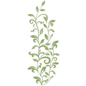 Stickere decorative LEAF SCROLL | 1 colita de 45, 7 cm x 101, 6 cm imagine