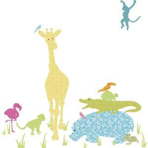 Stickere gigant ANIMAL SILHOUETTES | 48, 3 cm x 167, 6 cm imagine