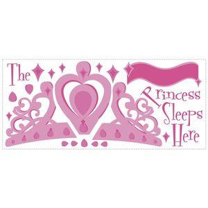 Sticker gigant PRINCESS SLEEPS There | 2 colite de 45, 7 cm x 101, 6 cm imagine
