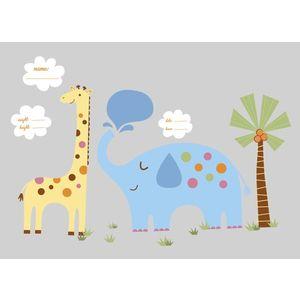 Stickere JUNGLE ANIMAL | 1 colita de 45, 7 cm x 101, 6 cm imagine