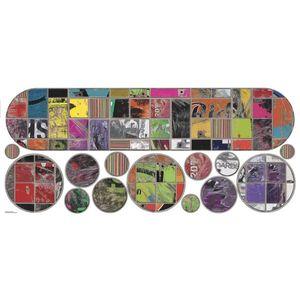 Stickere gigant SKATEBOAD & CIRCLES | 1 colita de 45, 7 cm x 101, 6 cm imagine