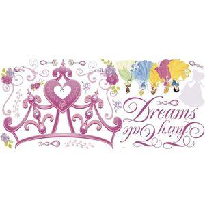 Sticker gigant Coroana Printeselor DISNEY | 1 colita de 45, 7 cm x 101, 6 cm imagine