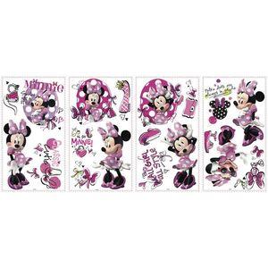 Sticker MINNIE FASHIONISTA | 4 colite de 25, 4 cm x 45, 7 cm imagine