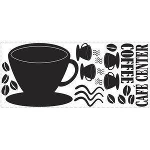 Tabla de scris COFFEE CUP | 1 colita de 45, 7 cm x 101, 6 cm imagine