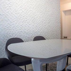 Mozaic Marmura Thassos 3D Scapitata 2.8 x 2.8cm Produs Comanda Speciala imagine