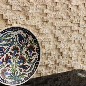 Mozaic Travertin Classic Scapitat 2.5 x 5cm imagine