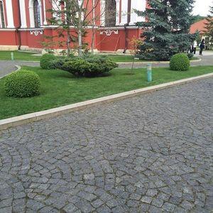 Piatra Cubica Granit Gri Antracit Natur 10 x 10 x 10cm imagine