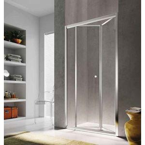 Sistem usa pliabila pentru dus in nisa Glass Isy IJ, 80cm imagine