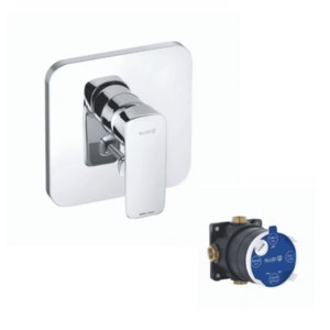 Baterie cada și duș KLUDI Pure&Style incastrata imagine
