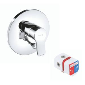 Baterie cada și duș KLUDI Pure&Easy incastrata imagine