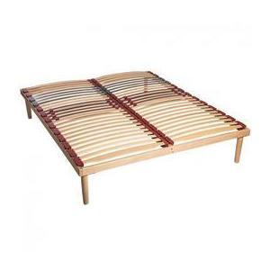 Somiera Relax Pat RDS, din lemn masiv, fag stratificat, 140x190xh35 cm - Cbs Export imagine