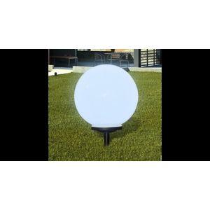 Lampa solara pentru exterior cu LED-uri + tarus, 40 cm, 1 buc imagine