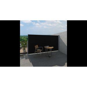 Paravan pentru Curte si Terasa Lateral 160 x 300 cm Negru imagine
