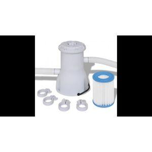 Pompă cu filtru pentru piscină 2000 L/h imagine