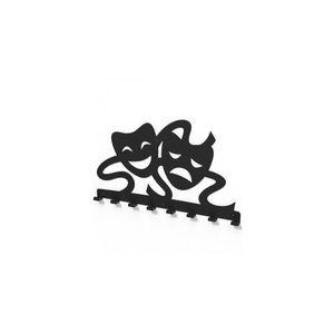 Cuier metalic MASTI de TEATRU -model 4040 Negru imagine