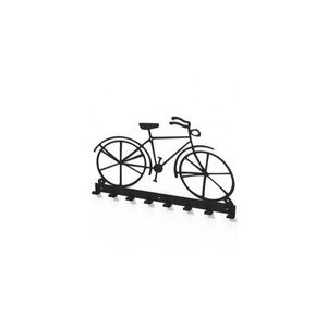 Cuier metalic forma bicicleta vintage -model 2104 Negru imagine