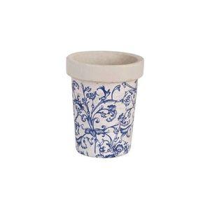 Set 3 ghivece lungi din ceramica antichizata Regana imagine