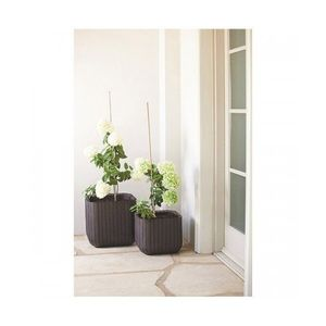 Ghiveci Cube Planter L Maro-Auriu imagine