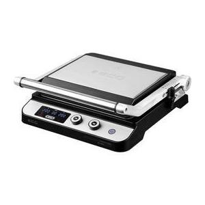 Grill ECG KG 1000 Gourmet Contact, 1650/-/2000 W, 2 termostate independente imagine