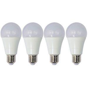 Set 4 Becuri LED Drimus 12W E27 Lumina Rece DL 6121 imagine
