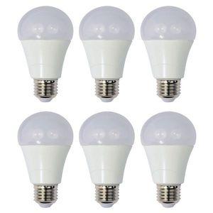 Set 6 Becuri LED Drimus 12W E27 Lumina Rece DL-6121 imagine