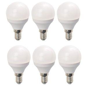 Set 6 Becuri LED Drimus 6W E14 Lumina Calda DL 3064 imagine