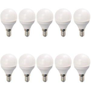 Set 10 Becuri LED Drimus 6W E14 Lumina Calda DL 3064 imagine