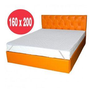 Set saltea Mercur Comfort Flex Plus 160x200 plus husa hipoalergenica imagine