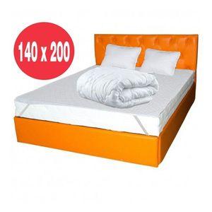 Set saltea Mercur Comfort Flex Plus 140x200 plus husa hipoalergenica imagine