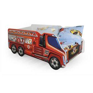 Pat pentru copii masina de pompieri HM Fire Truck imagine