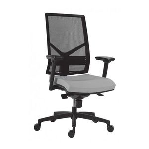 Scaun ergonomic mesh 1850 Omnia rosu imagine