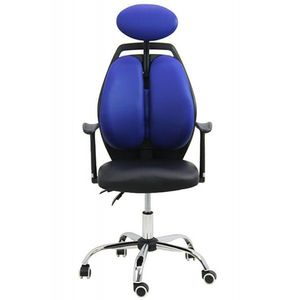 Scaun ergonomic OFF 913 Albastru imagine