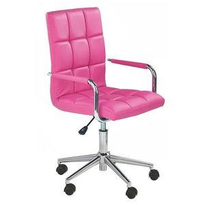 Scaun birou HM Gonzo 2 roz Roz imagine