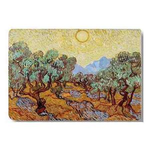 Suport masa - Van Gogh - Oliviers avec ciel jaune | Cartexpo imagine