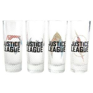 Set 4 pahare mini - Justice League   Half Moon Bay imagine