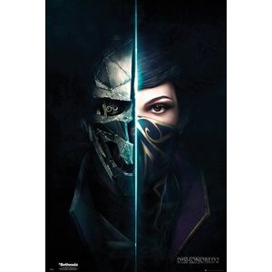 Poster - Dishonored 2, Faces | GB Eye imagine