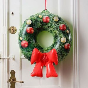Coronita gonflabila decorativa de Craciun - Holy Emergency Ring   Donkey imagine
