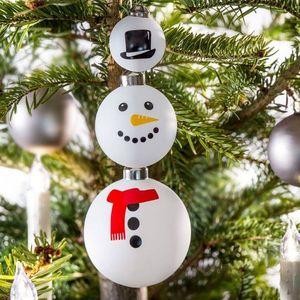 Set 3 globuri - Frosty Christmas | Donkey imagine