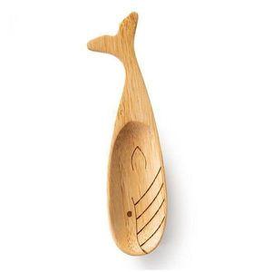 Lingura de lemn - Spoonimals Whale | Donkey imagine