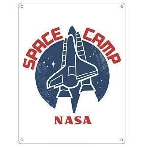 Placuta metalica - Nasa Space Camp   Half Moon Bay imagine