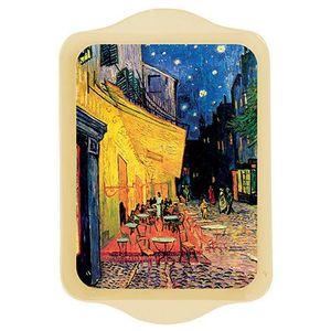 Tava metalica - Van Gogh - Terrasse du Cafe | Cartexpo imagine