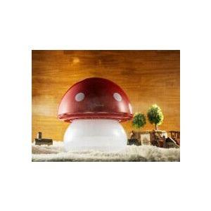 Umidificator Duux Mushroom Rosu Rata umidificare 220 ml/ora Consum 20W/h Debit aer 30 mc/h Veioza Pentru 15mp imagine