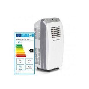 Aer conditionat portabil Trotec PAC 2600E Capacitate 9.000 Btu Debit 230mc/ora Telecomanda Display Timer Pentru 32mp imagine
