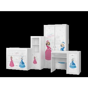 Set mobilier camera de copii 4 piese, Frozen imagine