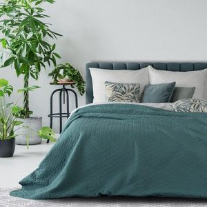 Cuvertura de pat cu imprimeuri geometrice, Julia 210x170 cm imagine