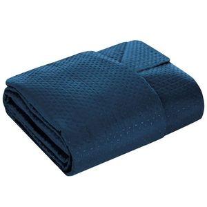 Cuvertura pentru pat matlasata, Boni Blue 170x210 cm imagine