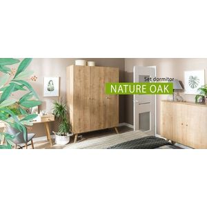 Set dormitor Nature Oak imagine